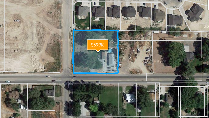 Lehi Main Street 1.016 acre lot with more land available