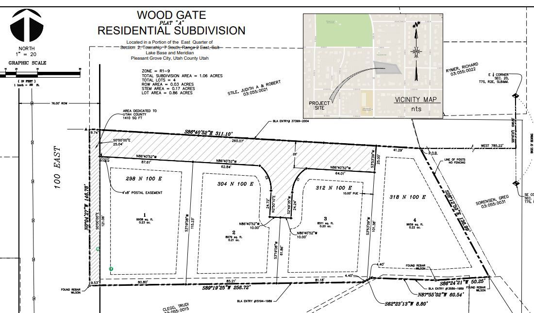 Residential Building lot in Pleasant Grove for only $160,000
