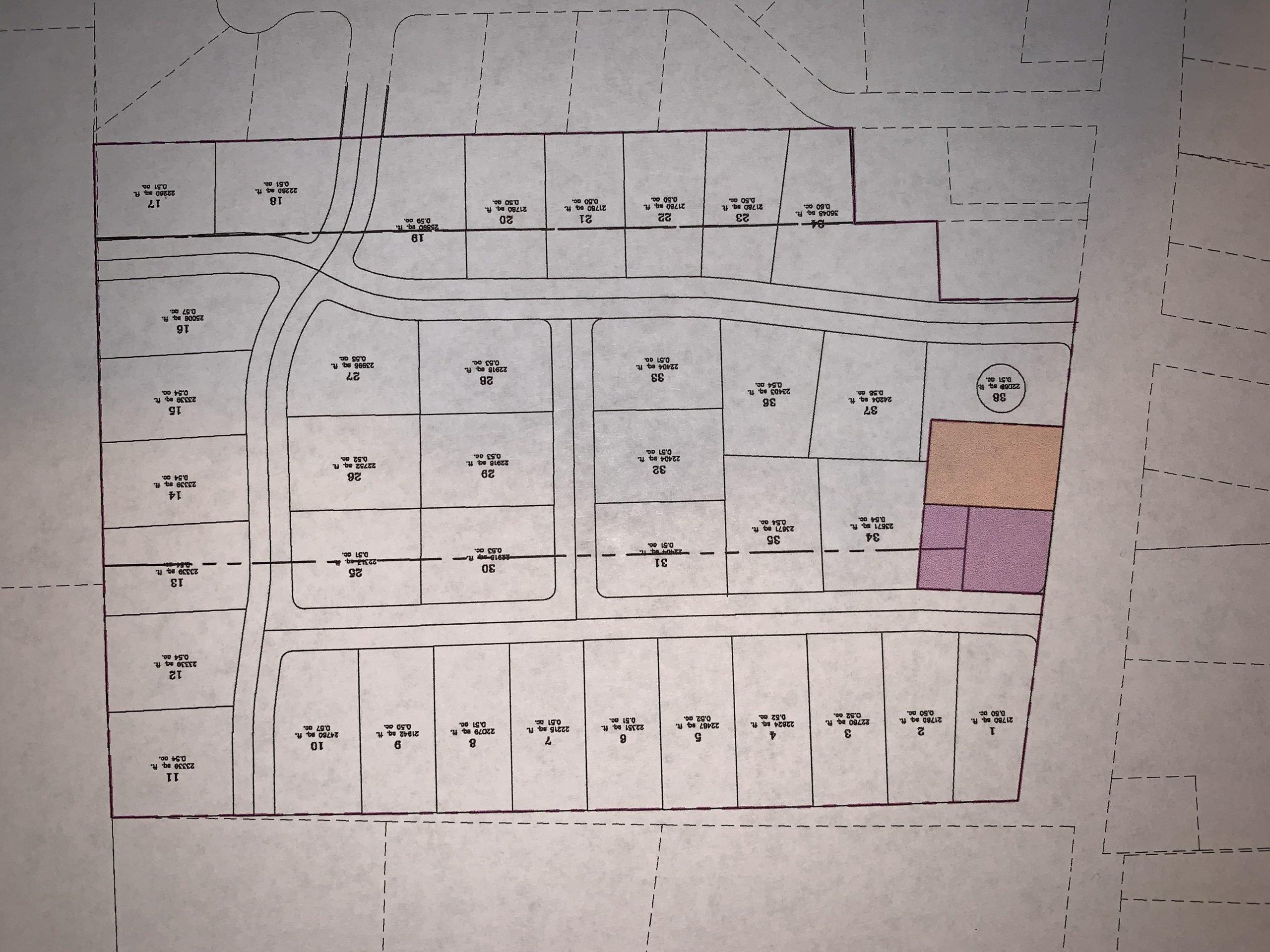 Potential 38 Lot Subdivision in Mona
