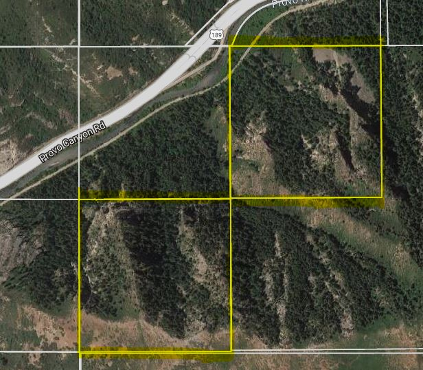 80 Acres in Provo Canyon