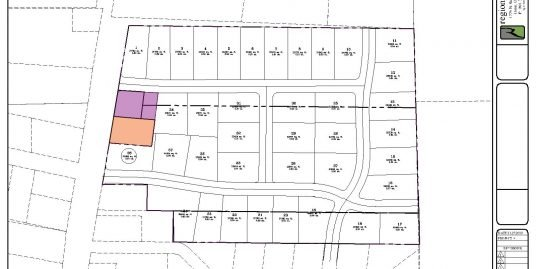 Potential 38 Lot Subdivision in Mona with Water