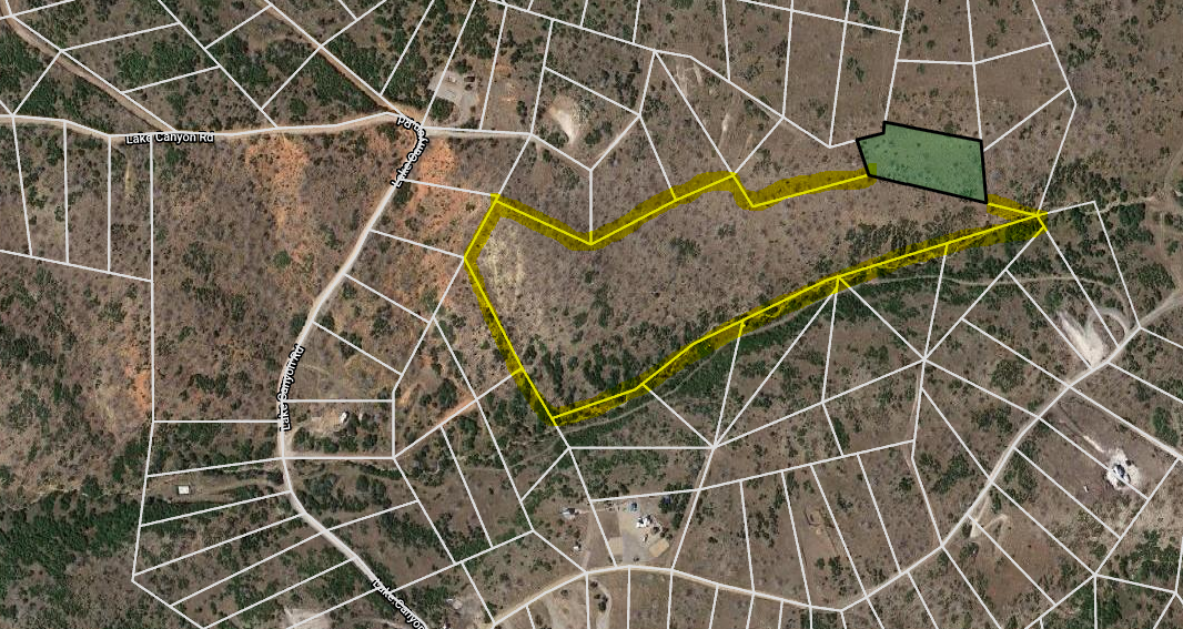 11.57 acres in Indian Ridge for only $35,000